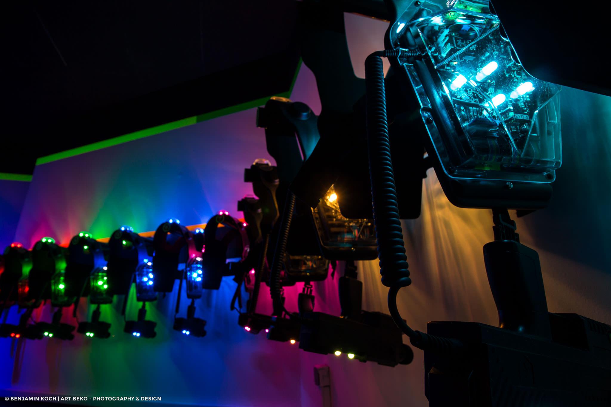 Fotografie Lasergame Erfurt