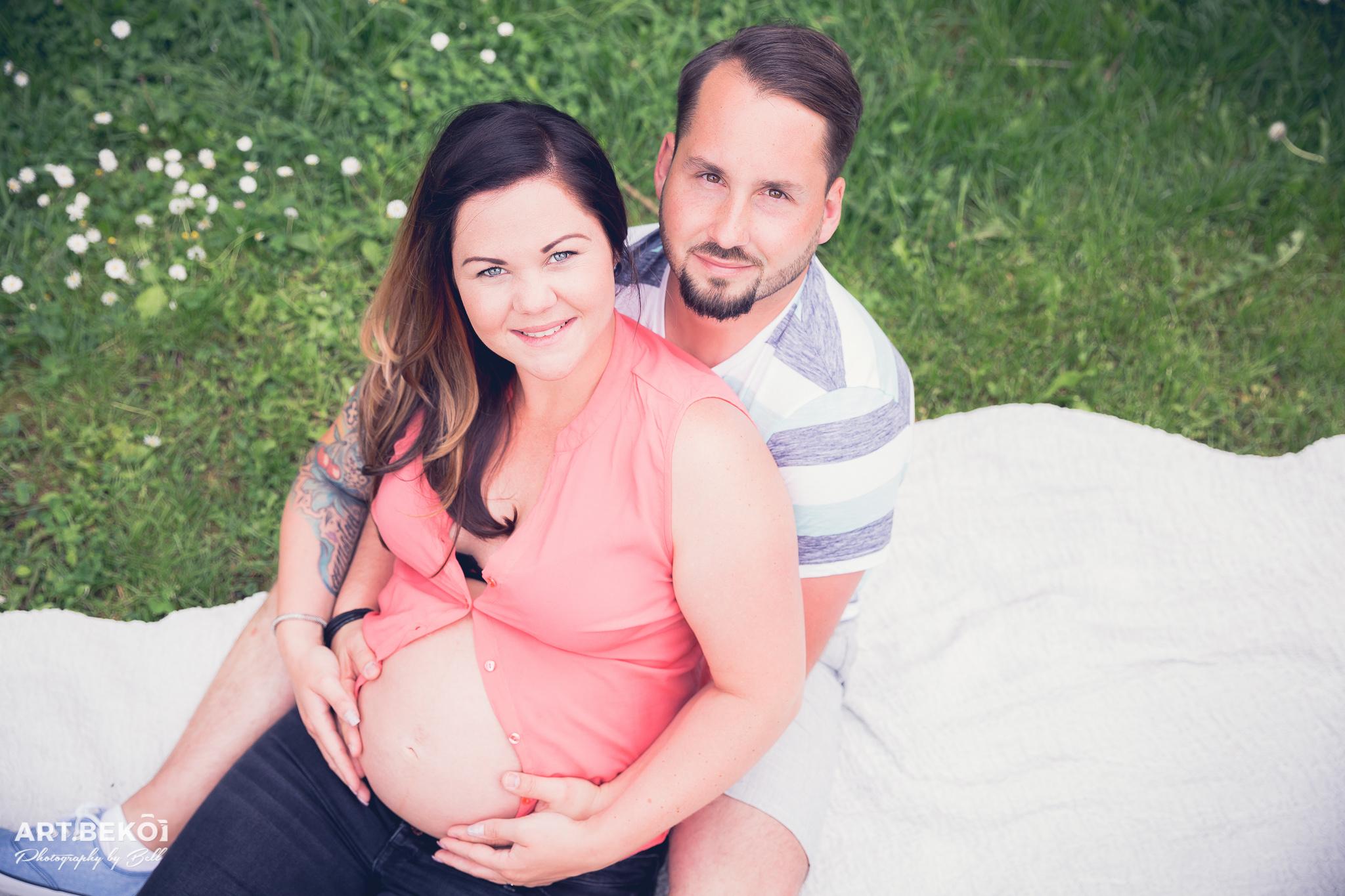 Familienshooting | Babybauch Caro & Hannes